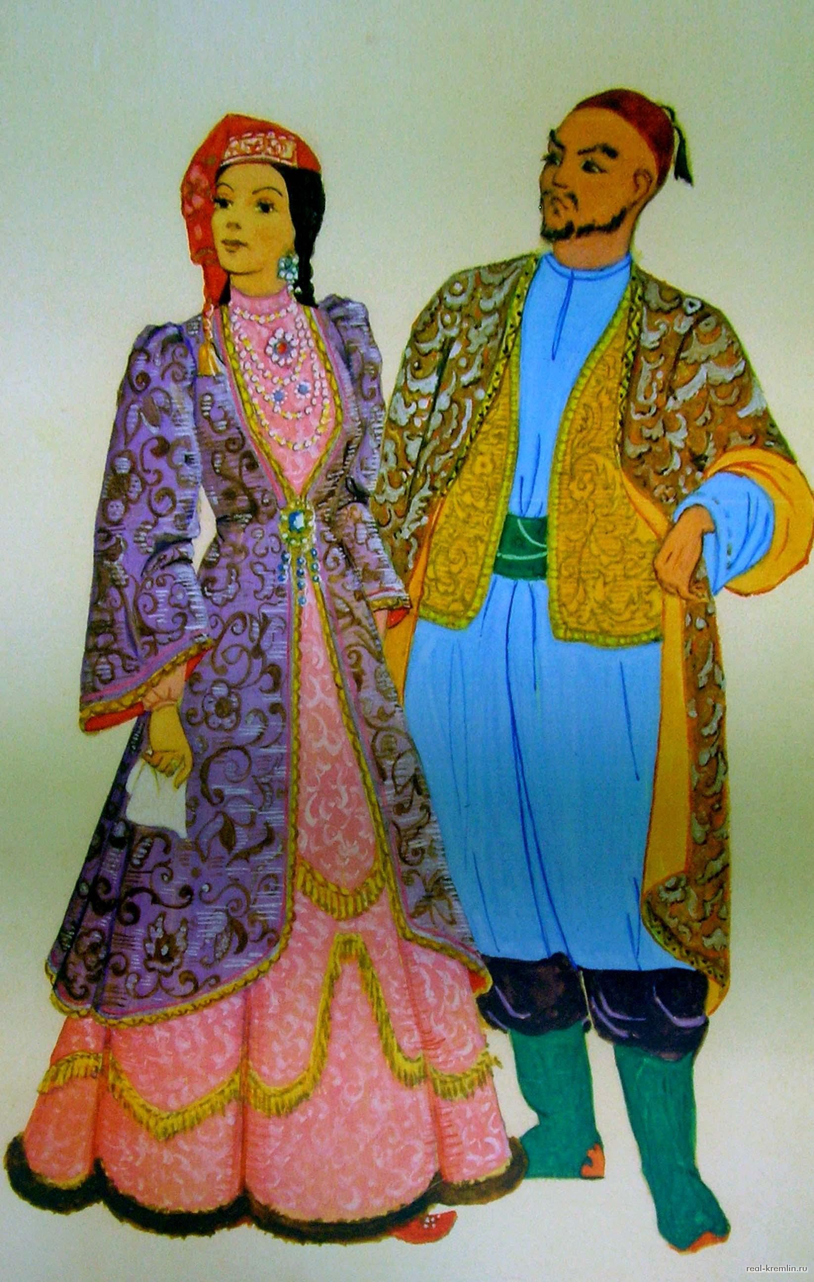 Фото национального костюма народа татаров 4